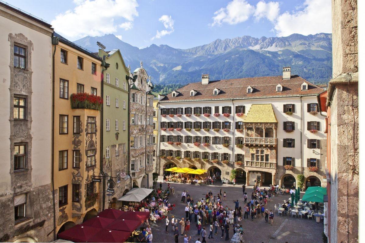 Het beroemde Gouden Dak. Foto: Innsbruck Tourismus Christof Lackner