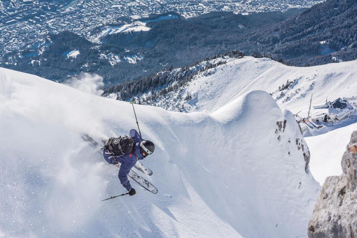 Skiën op de Nordkette, op een steenworp afstand van de stad. Foto: Innsbruck Tourismus, Klaus Polzer