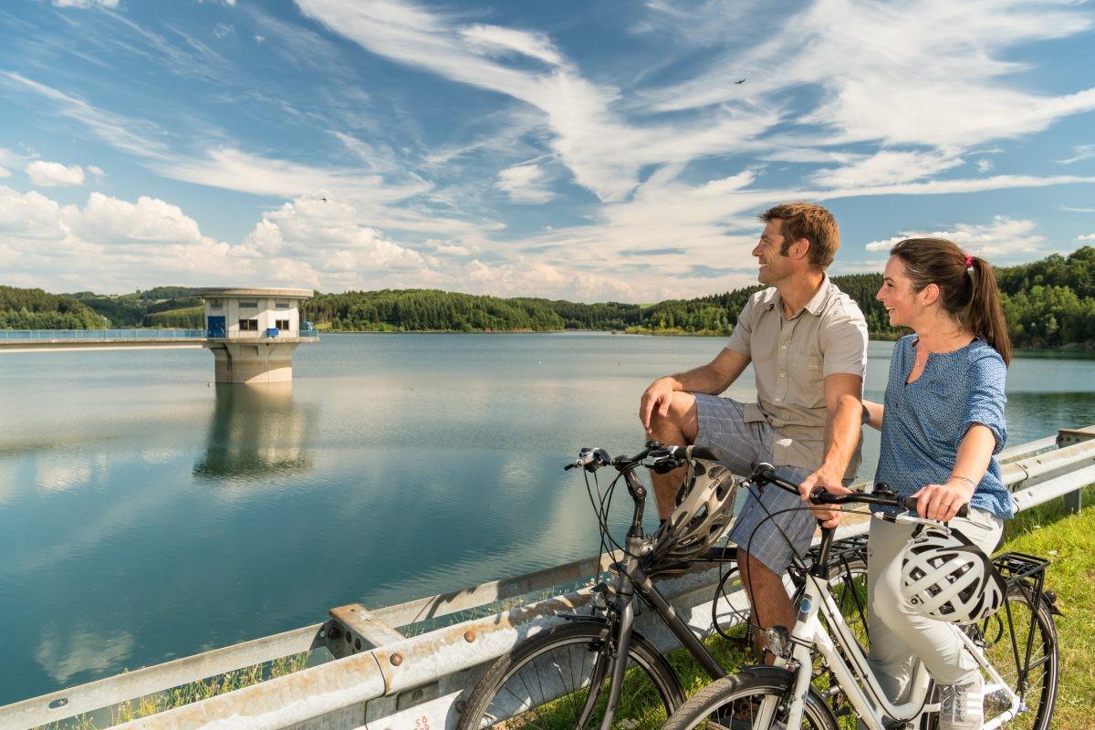 Wordt het vandaag een pittige, lange route, of kies je voor een meer relaxte? Alles kan! Foto: Dominik Ketz