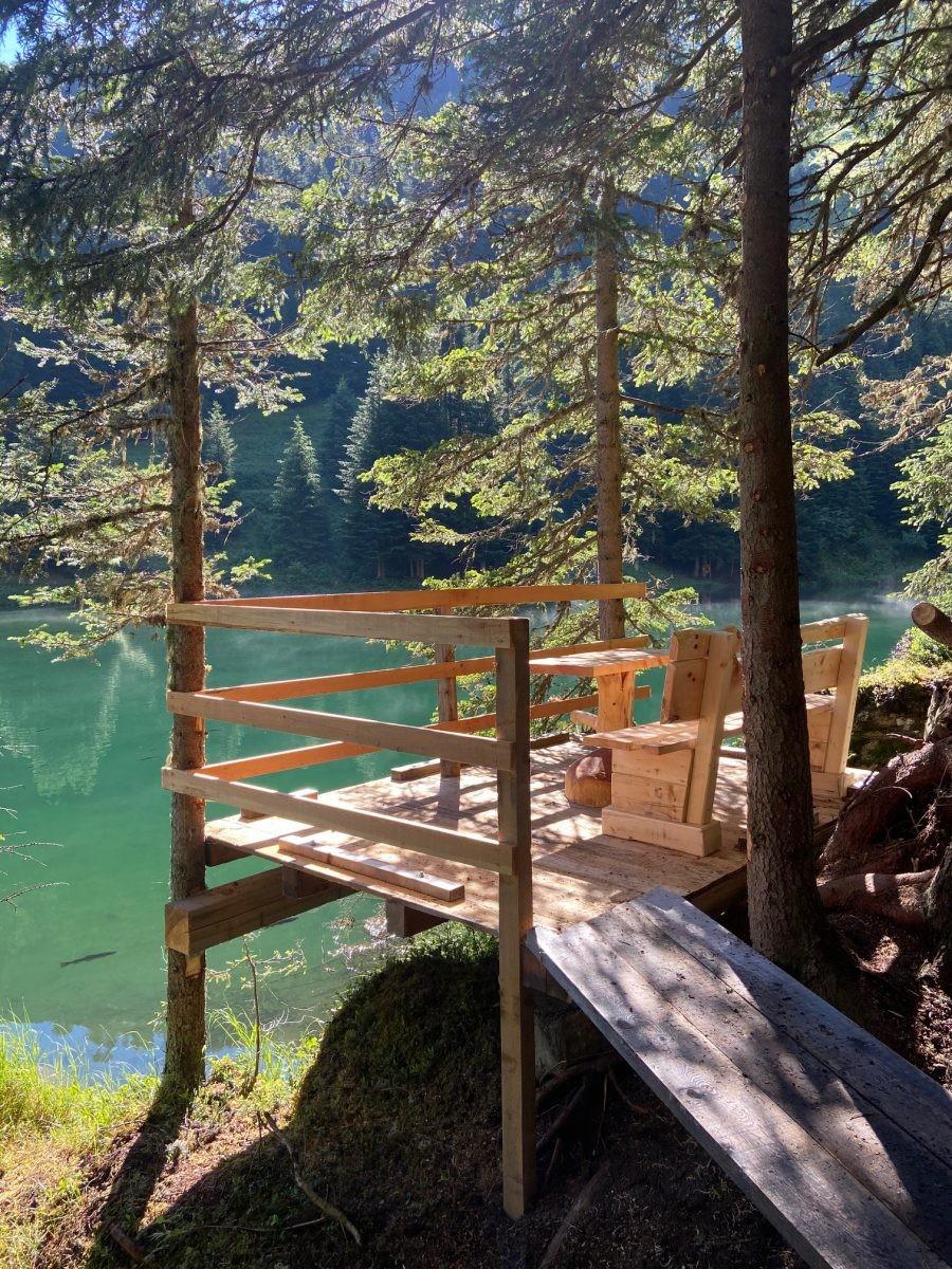 Schwarzwasser See. Foto: Maaike de Vries