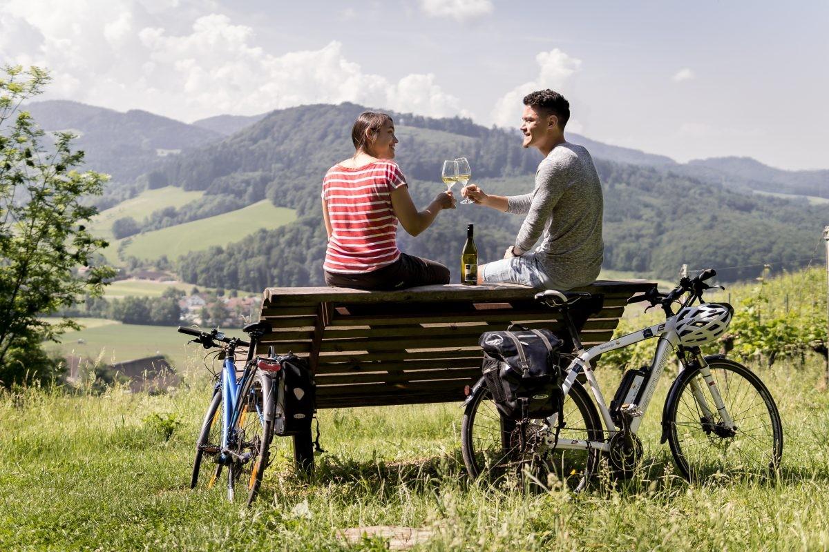 Welverdiende pauze op de wijnroute © Chris Keller Schwarzwald Tourismus