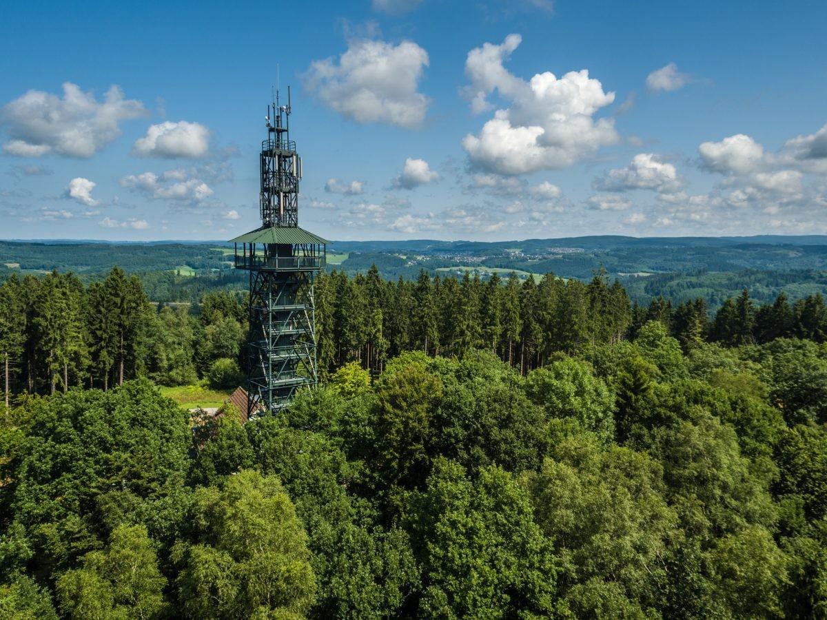 De uitzichttoren bij Unnenberg. Foto: Dominik Ketz