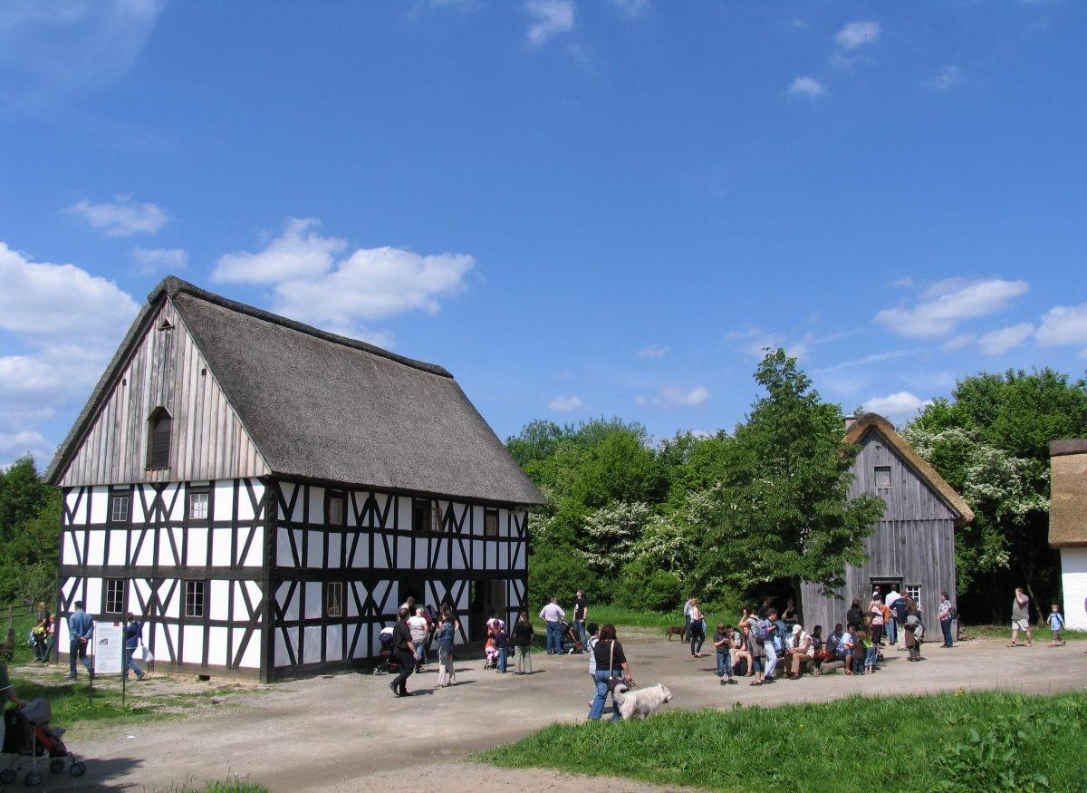 Het Freilichtmuseum Lindlar. Foto: Brigitte Heck