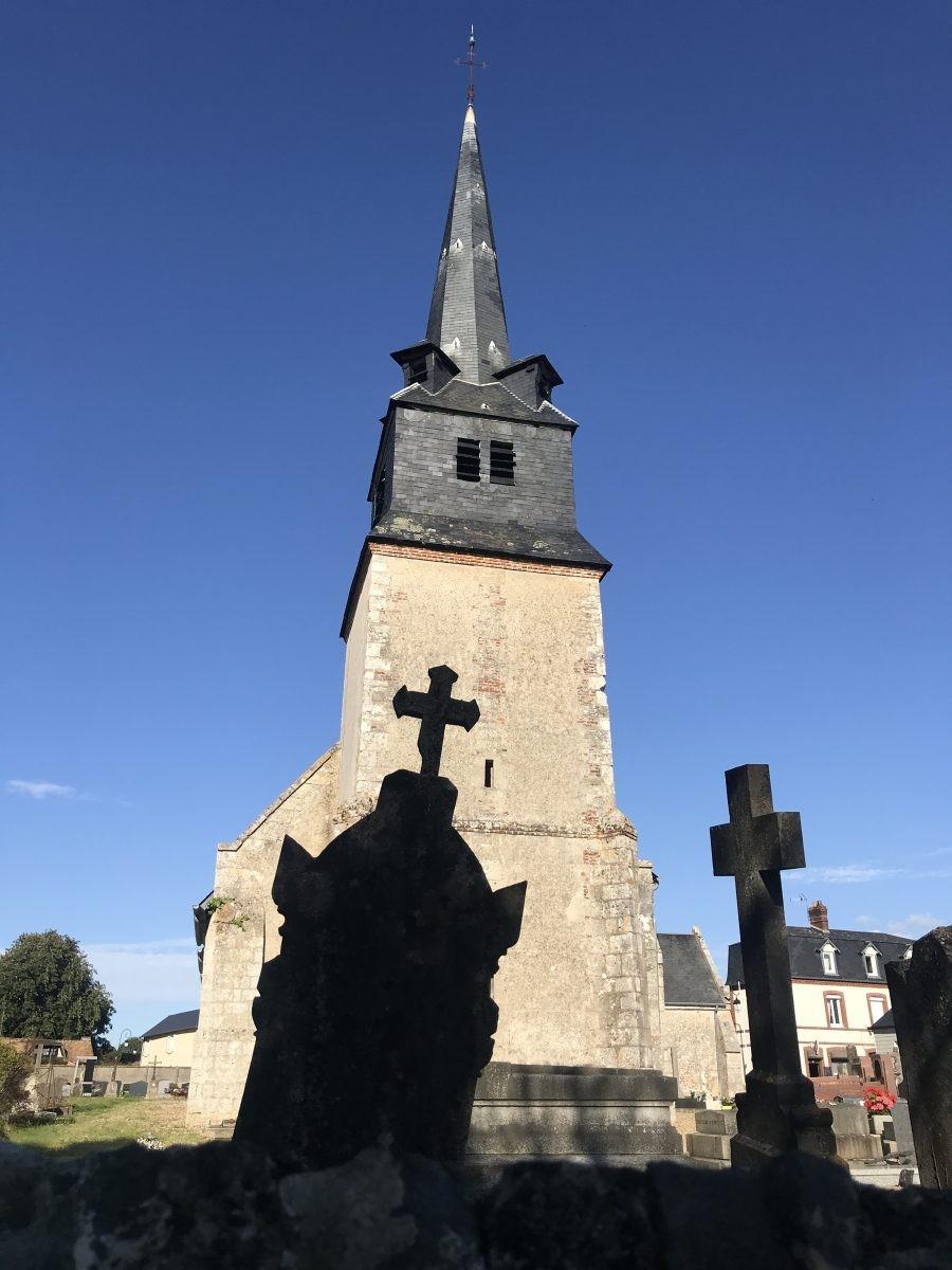 Er is hier geen gebrek aan kerken...