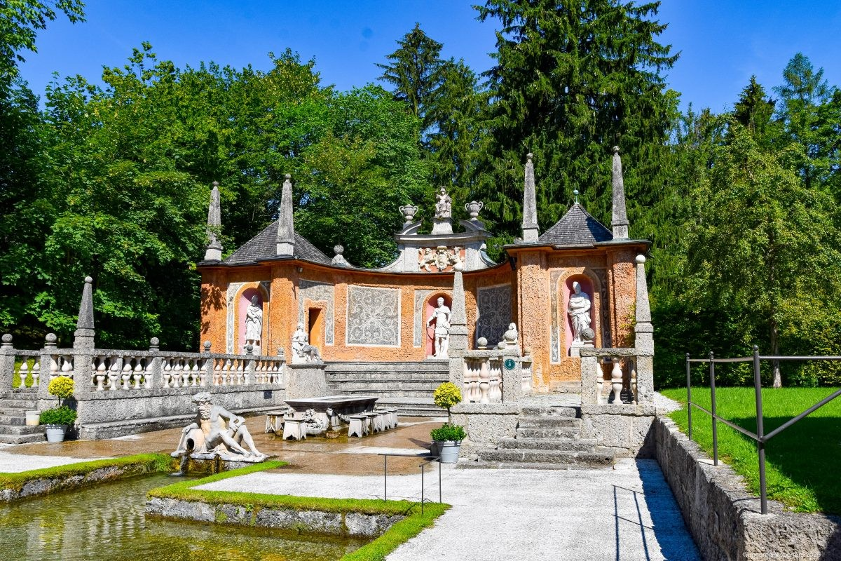 Trick Water Fountains. Foto: Edwin Hagenouw