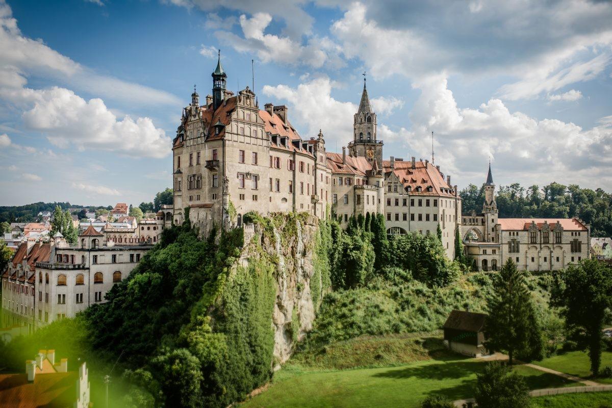Slot Sigmaringen, je zal er maar wonen! ©Hohenzollern Schloss Sigmaringen
