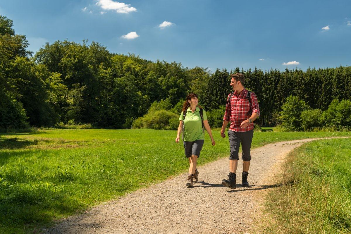 Lekker wandelen op de Eifgenbachweg. Foto: Dominik Ketz
