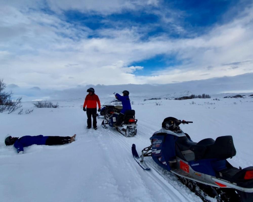 sneeuwscooteren-ijsland