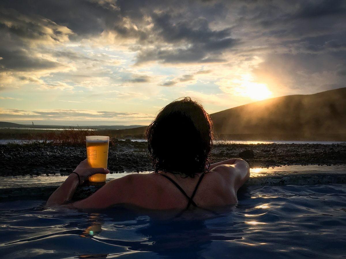 Nature baths IJsland
