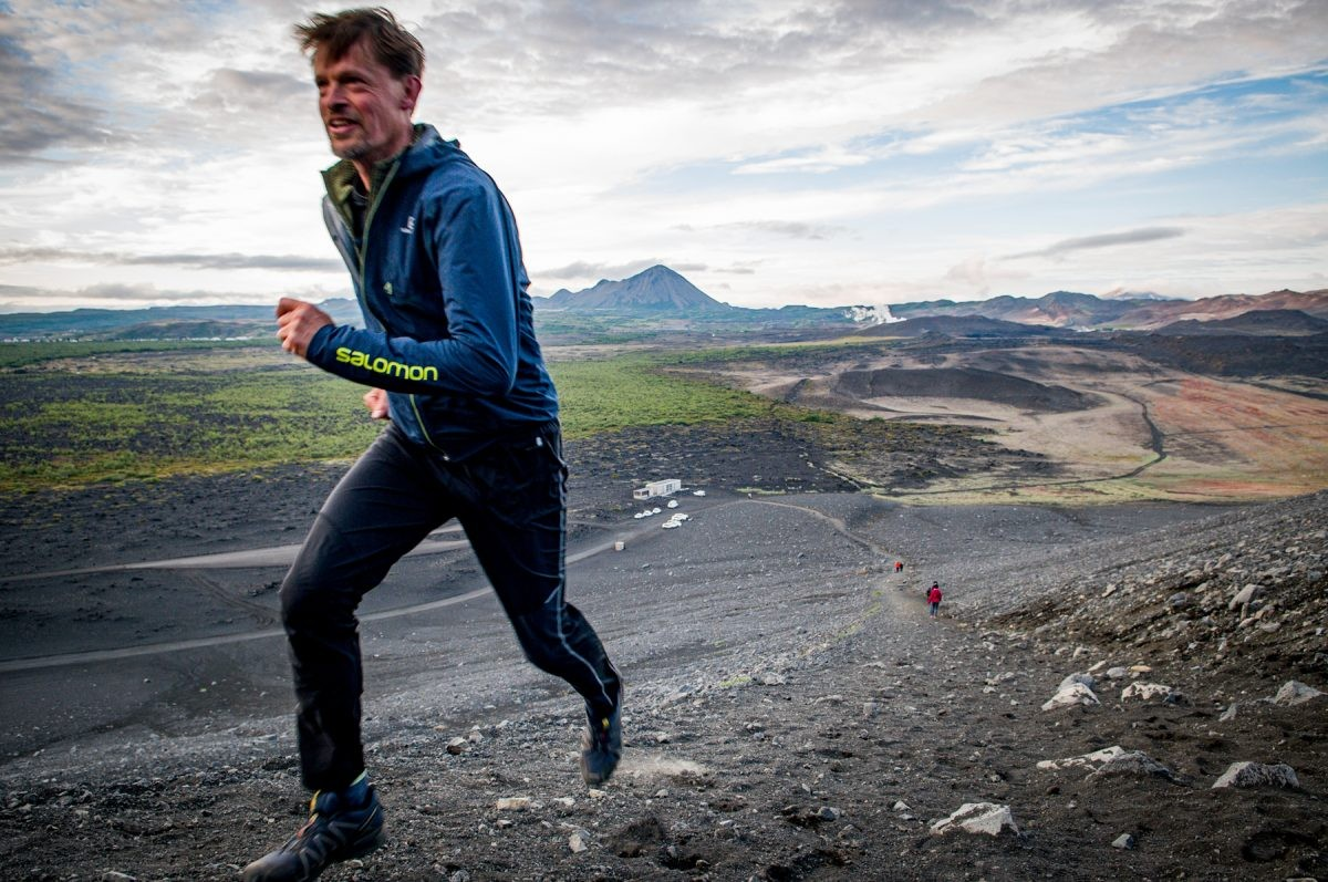 Trainen op de vulkaan