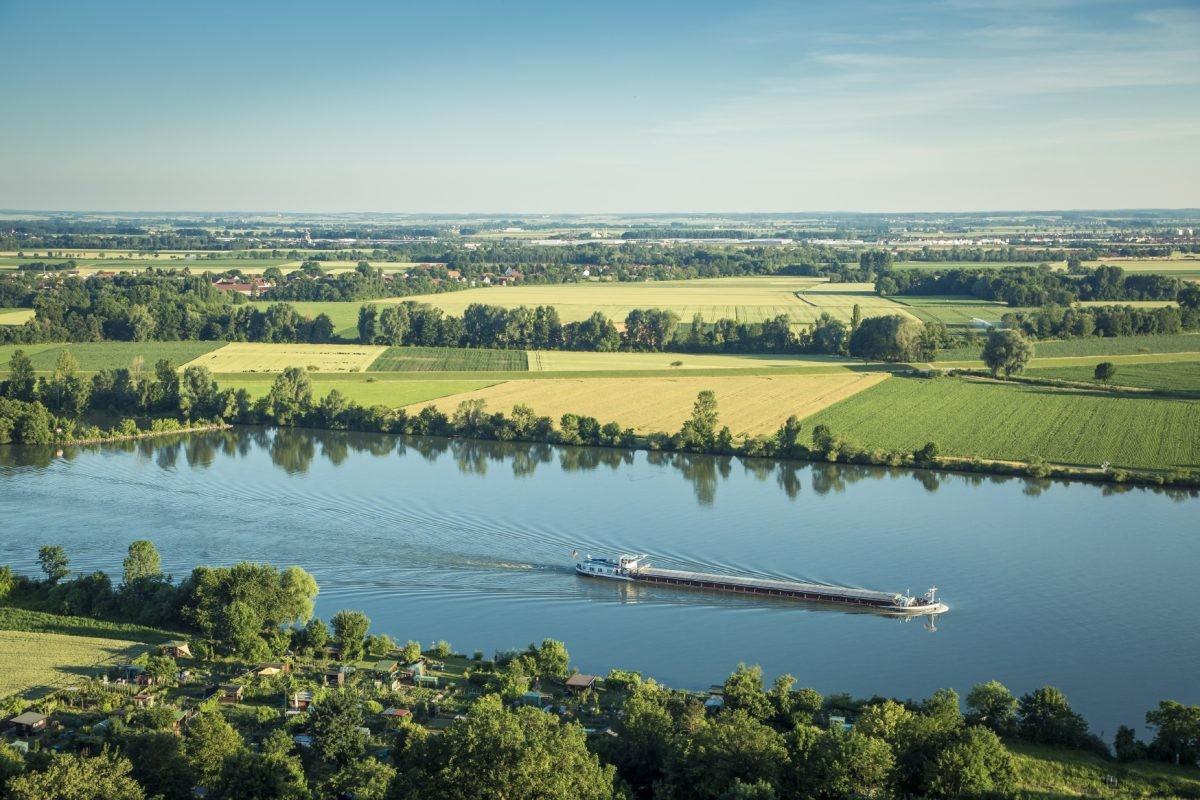 De Donau vlakbij Regensburg. Foto: www.bayern.by - Bernhard Huber