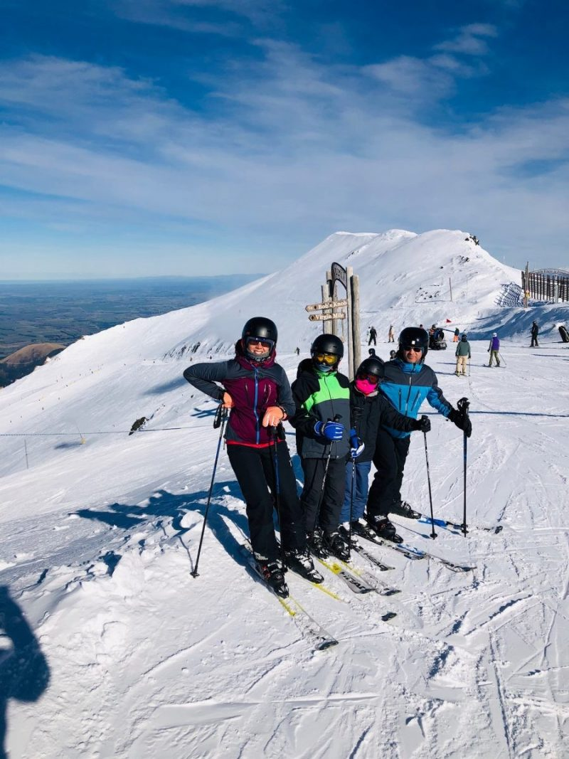 Skiën in de maand Juli