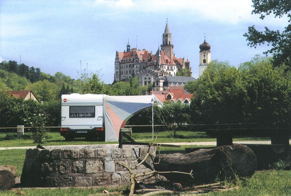 Camp Camping Schloss out & back
