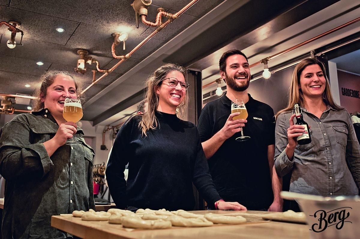 Proost bij de Berg Brauerei. Foto: ©Berg Brauerei