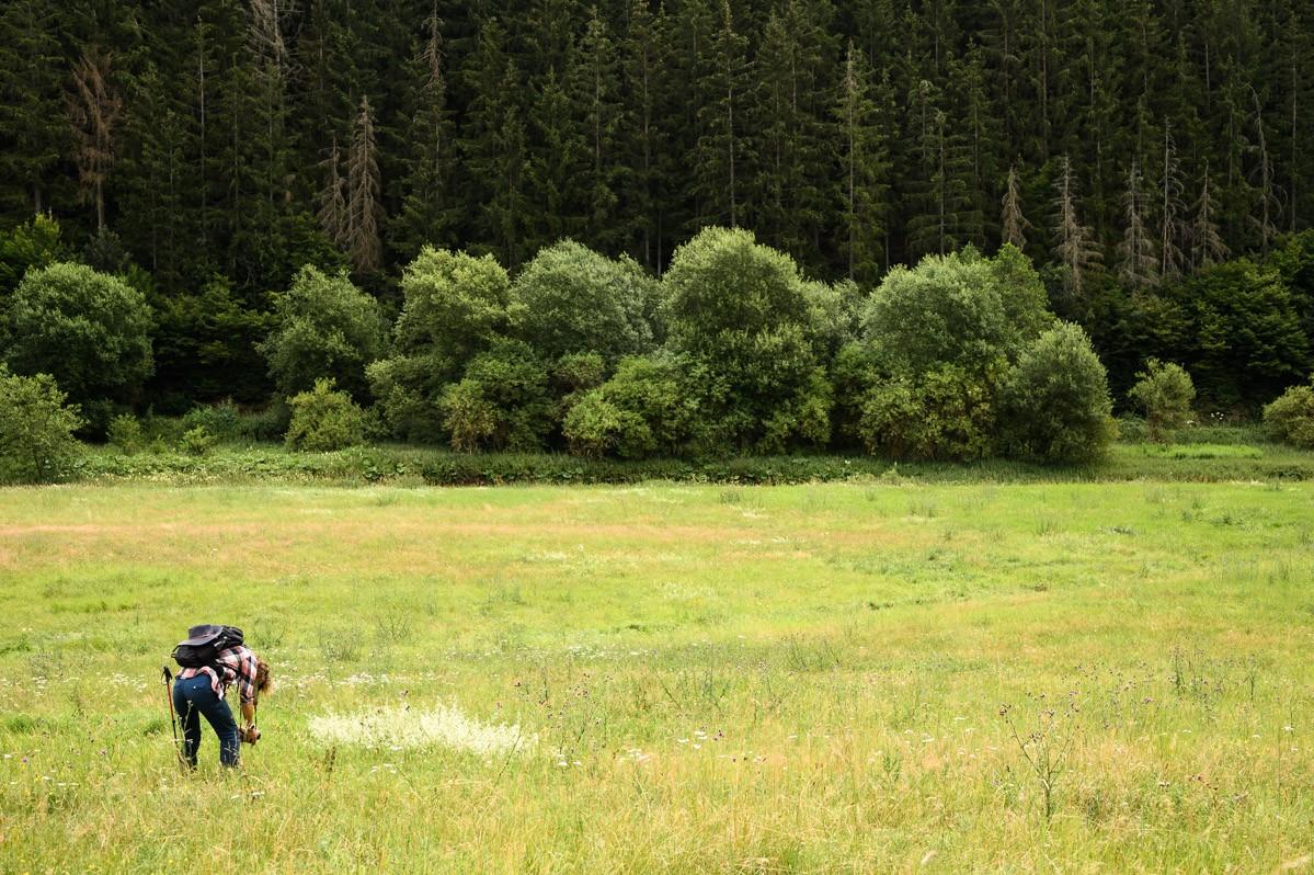 Fotograaf Marloes aan het werk