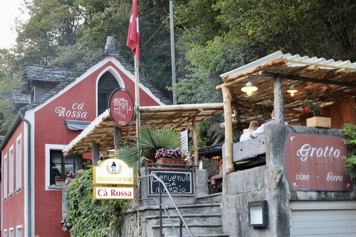 Wij aten heerlijk bij Cá Rossa