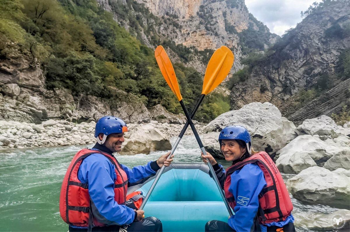 Raften op de Arachthos rivier. Foto: Gorgos, Alpine Zone