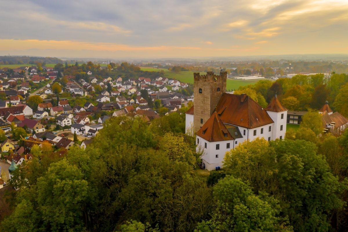 Reisensburg bij Günzburg. Foto: Philipp Röger für die Stadt Günzburg