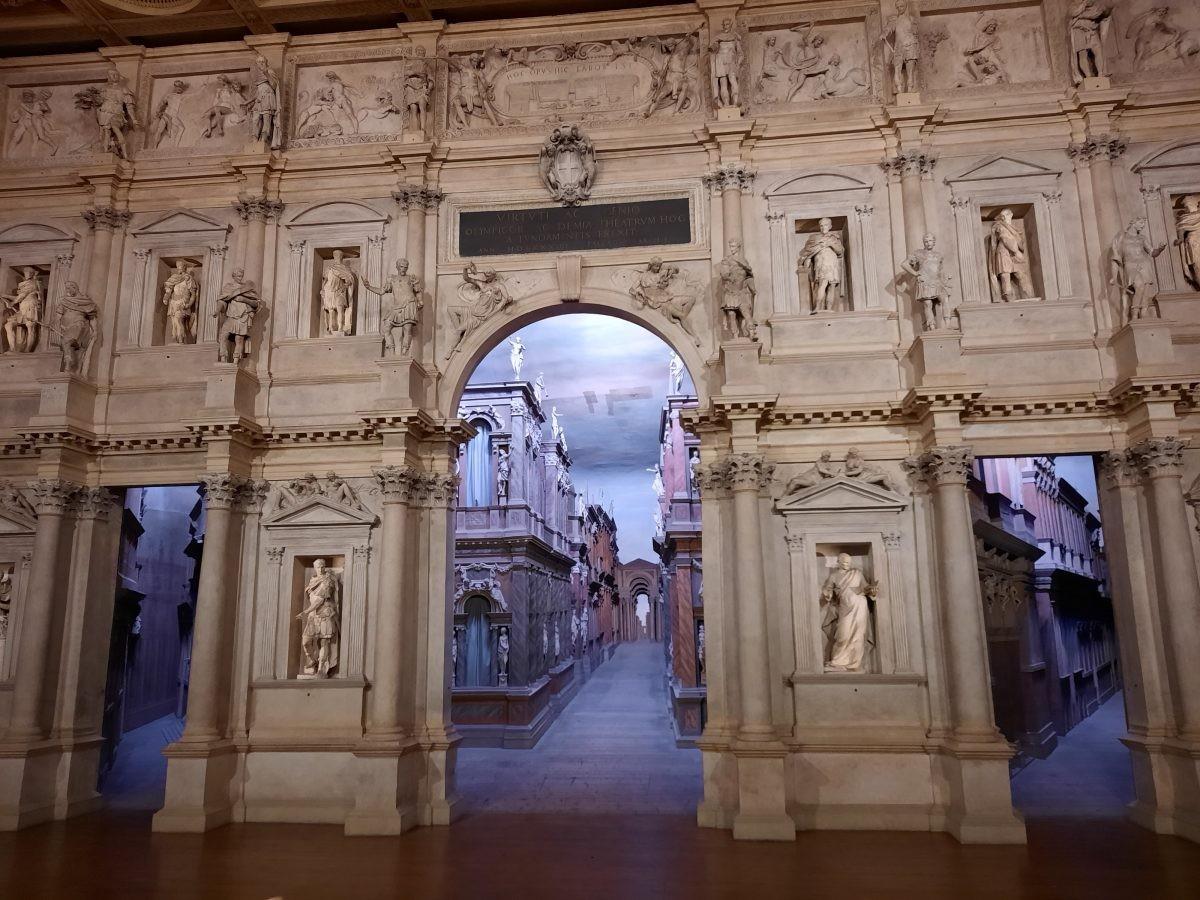 Vicenza toneel Teatro Olypico