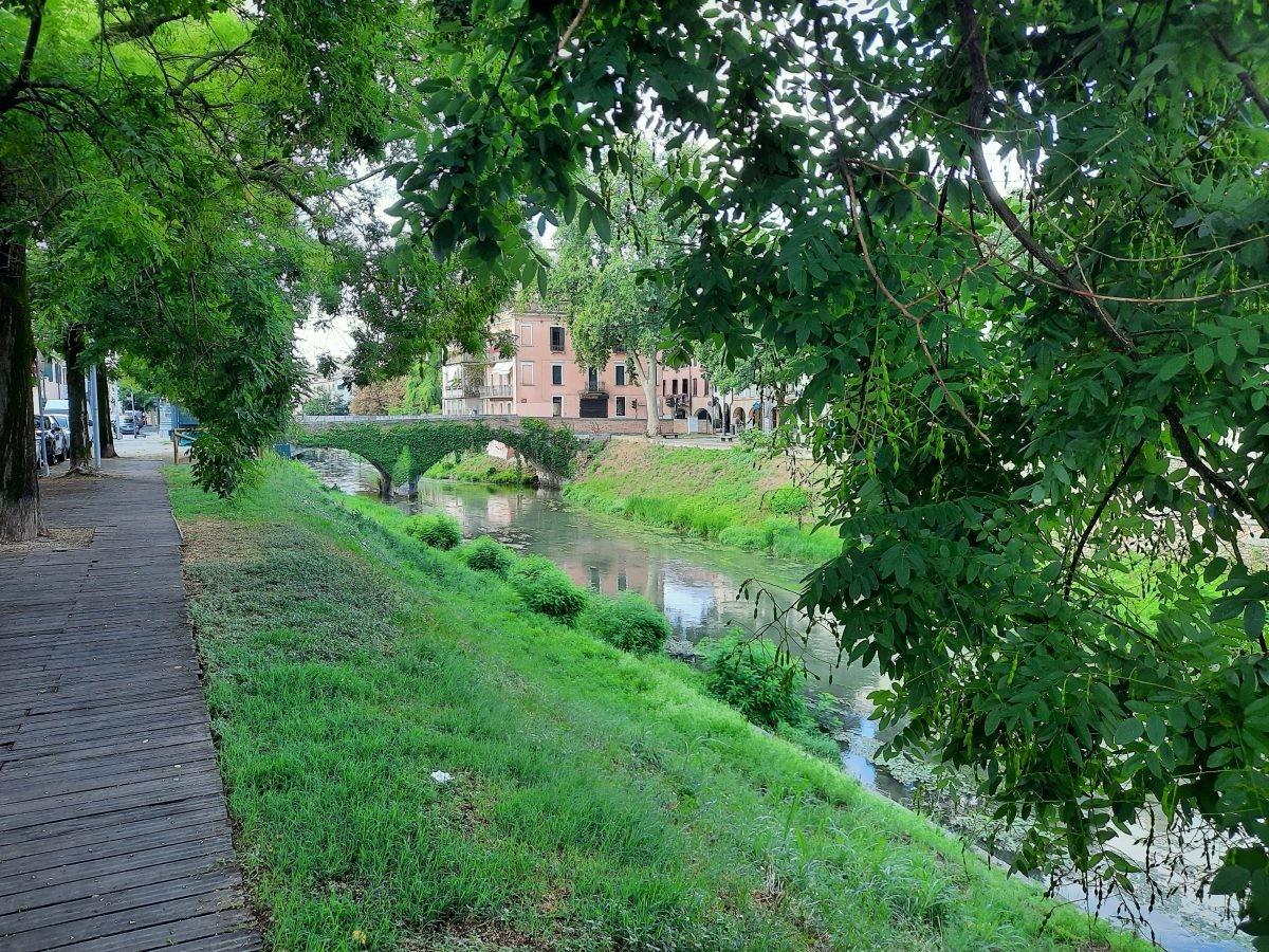 Dromerig langs de oude stad van Padua