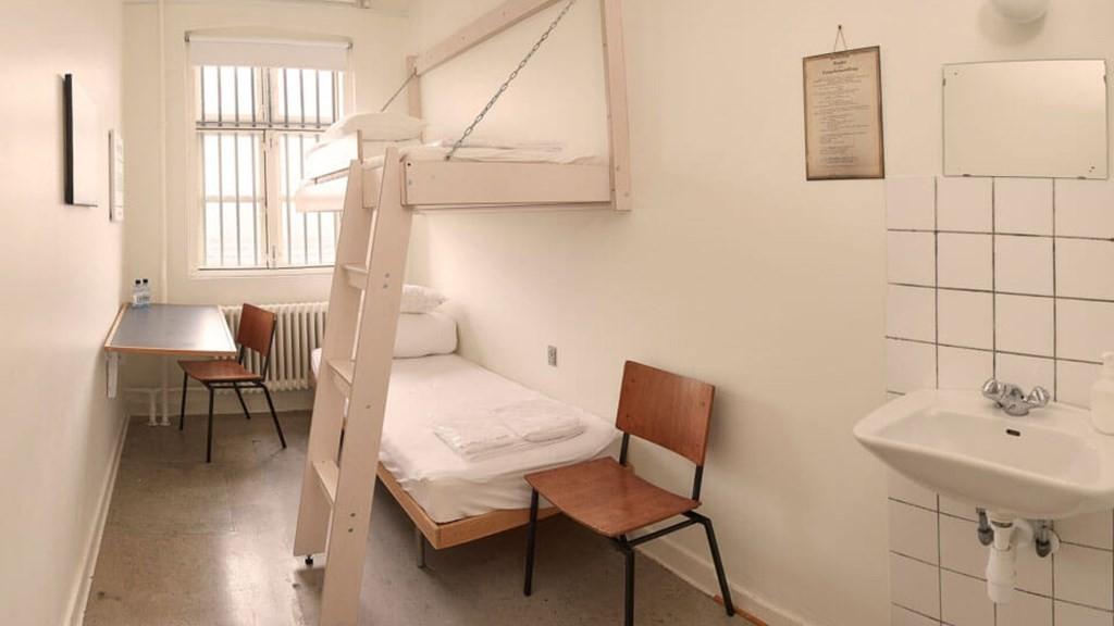 Slapen in een cel