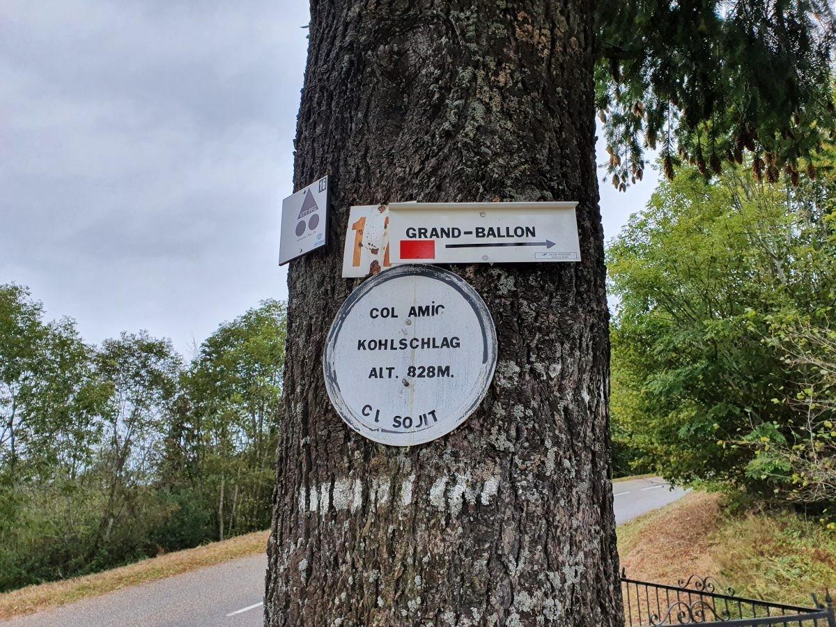 Grand Ballon route