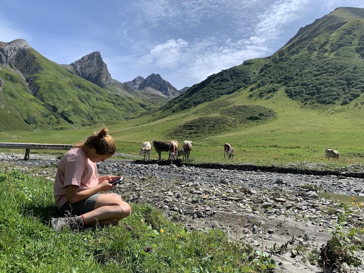 Lunchplek Lechtaler Höhenweg