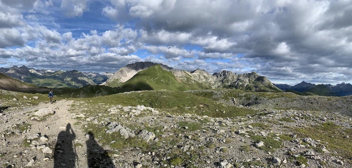 Wolken lechtal Oostenrijk