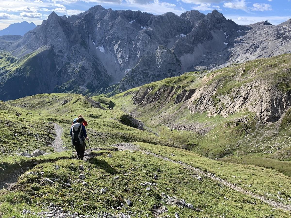 Prachtig ruige omgeving Lechtaler Höhenweg