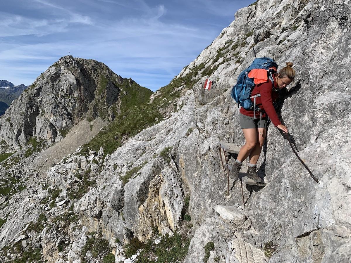 Focus op de Lechtaler Höhenweg