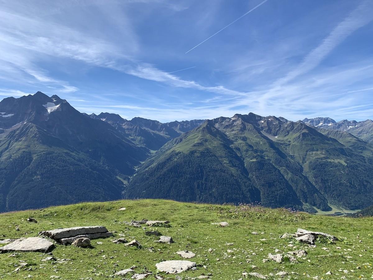 eenvoud in de bergen
