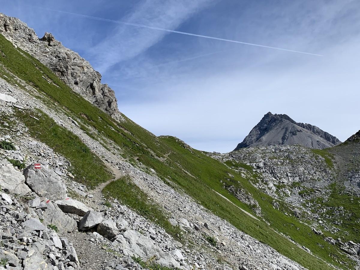 Lechtaler Höhenweg Huttentocht Oostenrijk Lechtaler Alpen