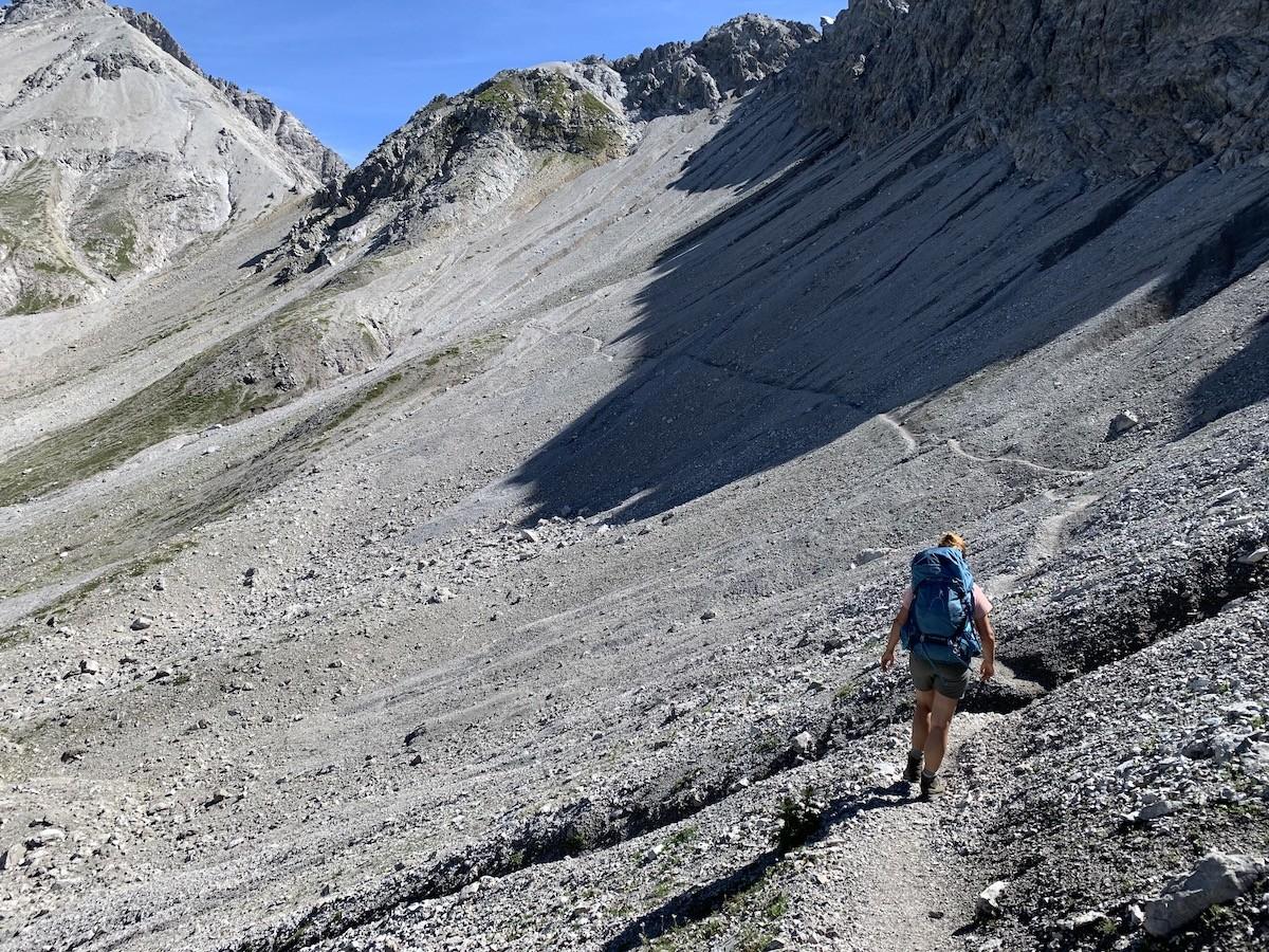 Een ogenschijnlijk makkelijk pad. Foto: Dagmar Wolters