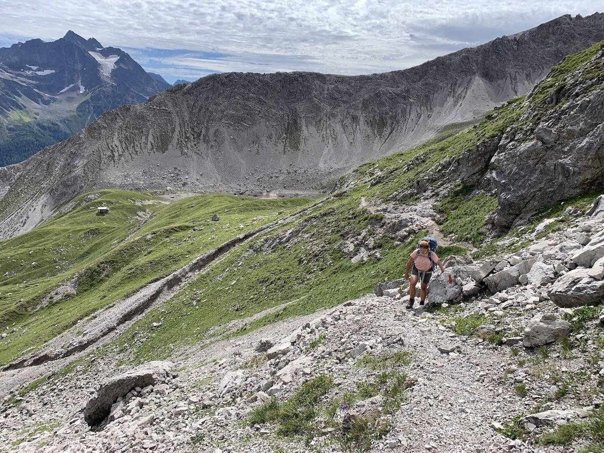 Lechtaler Höhenweg Oostenrijk huttentocht Lechtal