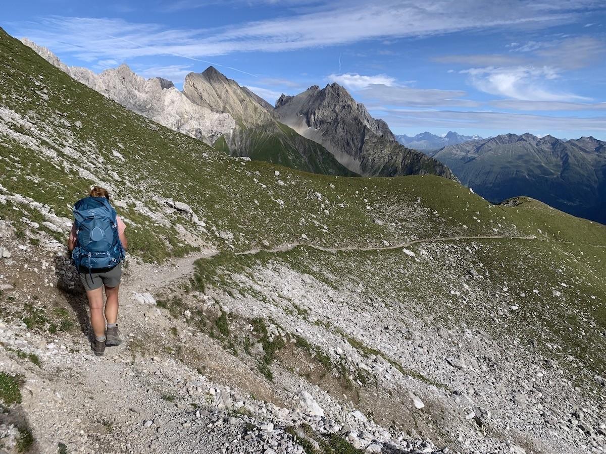 Lechtaler Höhenweg Oostenrijk huttentocht