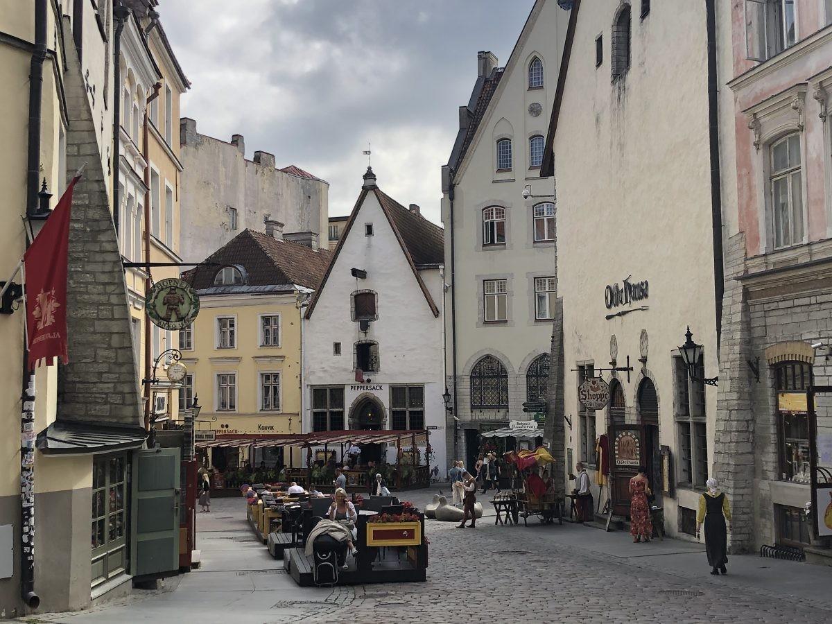 Een heerlijke sfeer in Tallinn