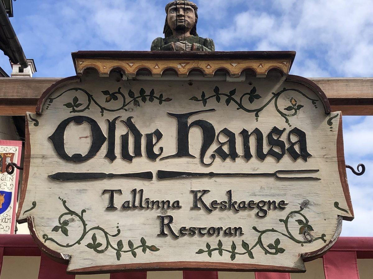 Een fantastisch restaurant in Tallinn