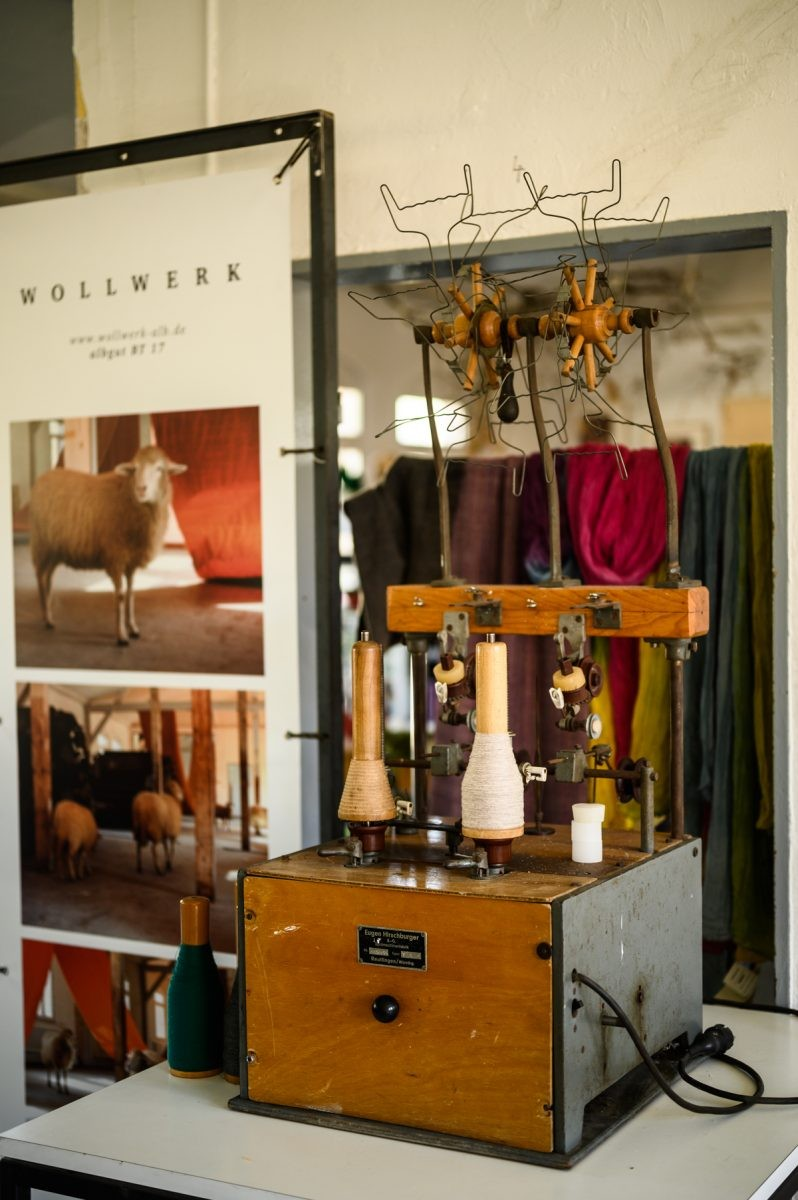 Een van de ambachten: wol. Foto: Manja Herrebrugh