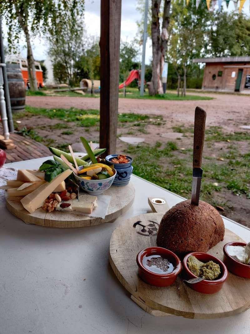 Lekker chillen op de camping. Foto: Sietske Mensing