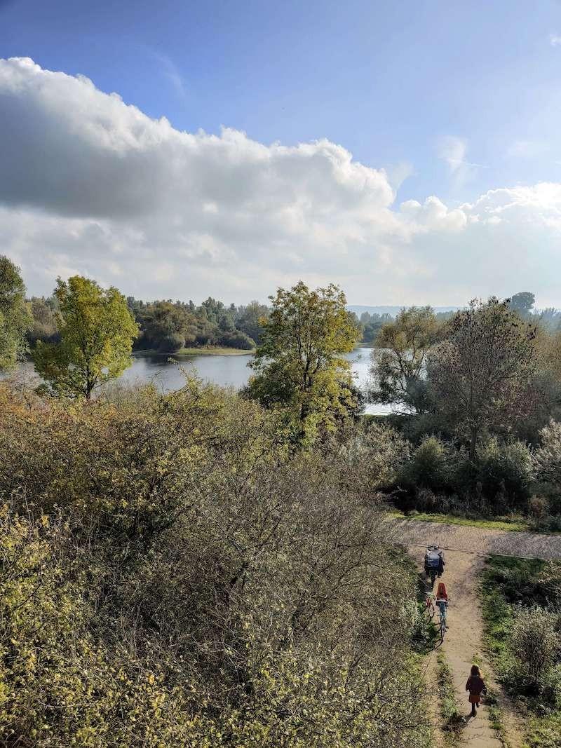 Uitzicht over de Ooijpolder. Foto: Sietske Mensing