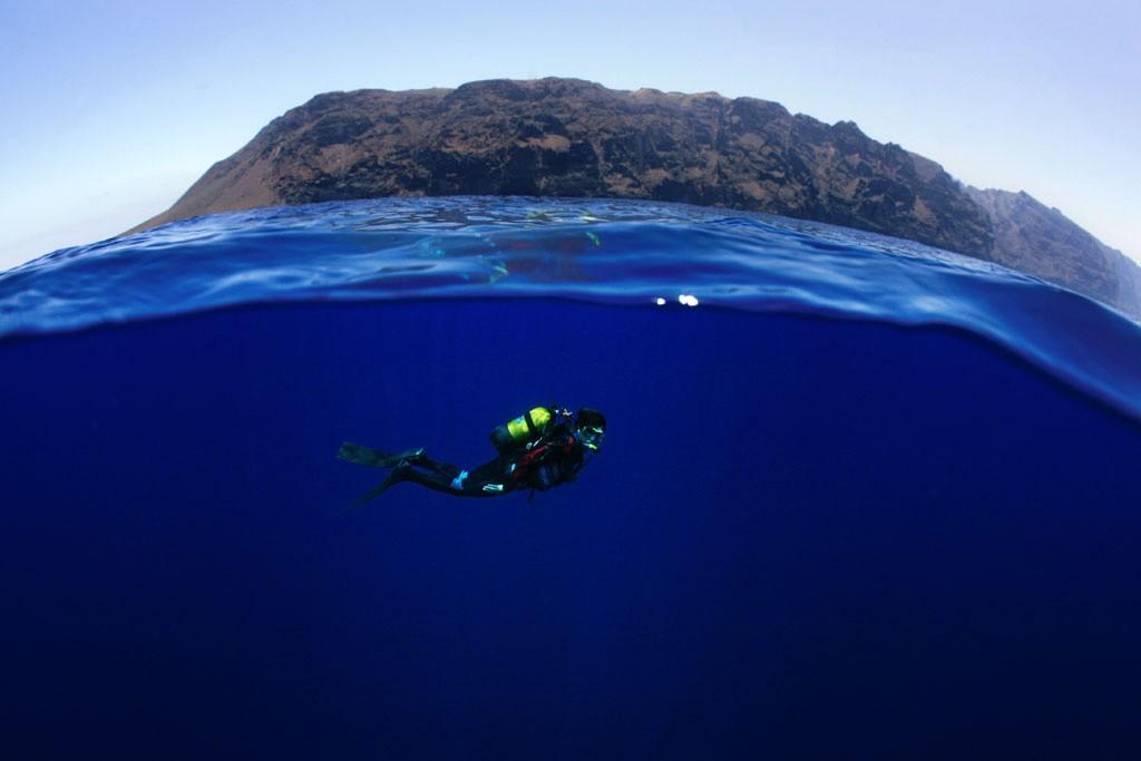 Genoeg duikspots op Tenerife. Copyright Turismo de Tenerife