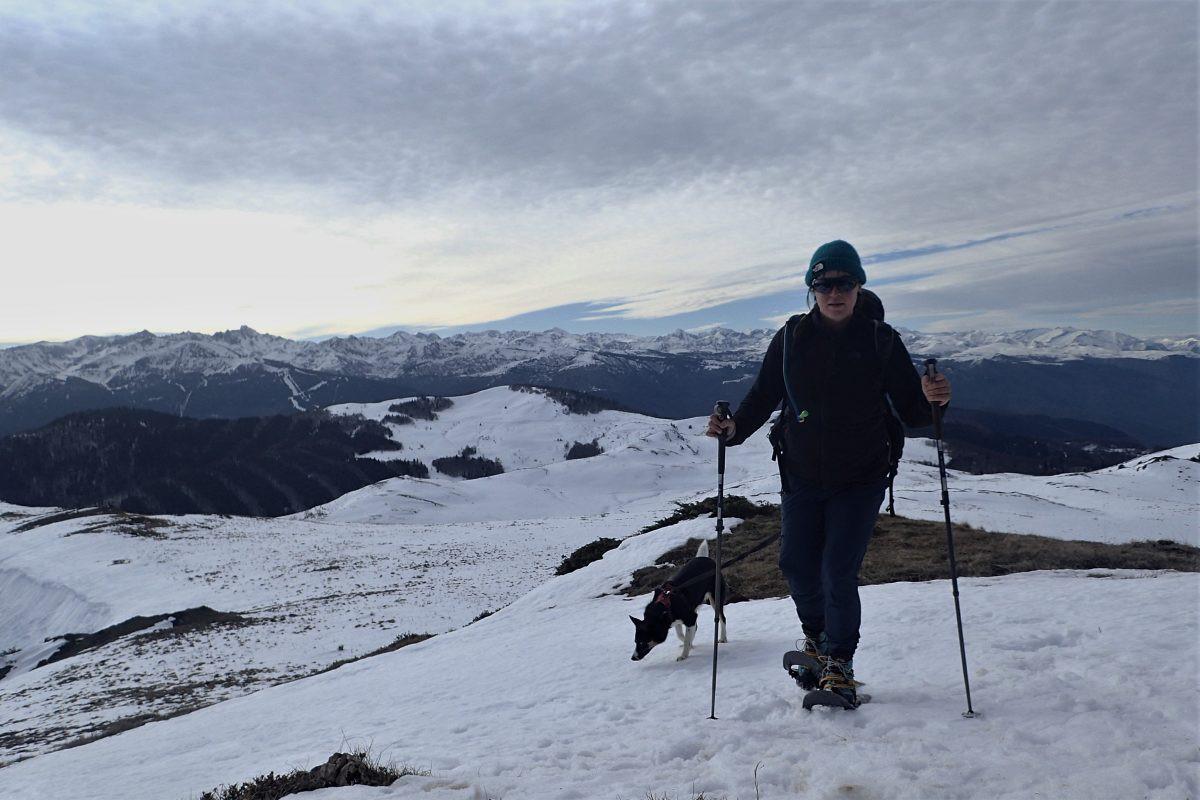 Schoffel Ascona en sneeuwrackets