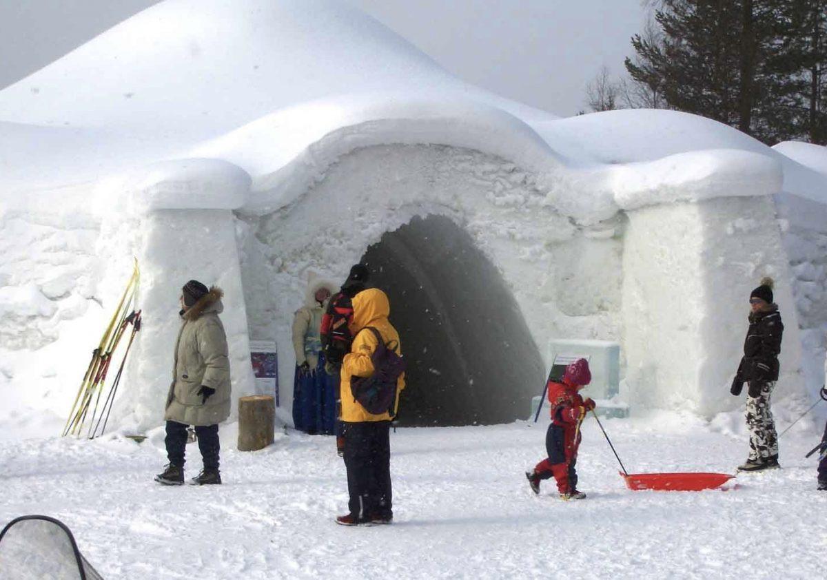 IJshotel in Lapland