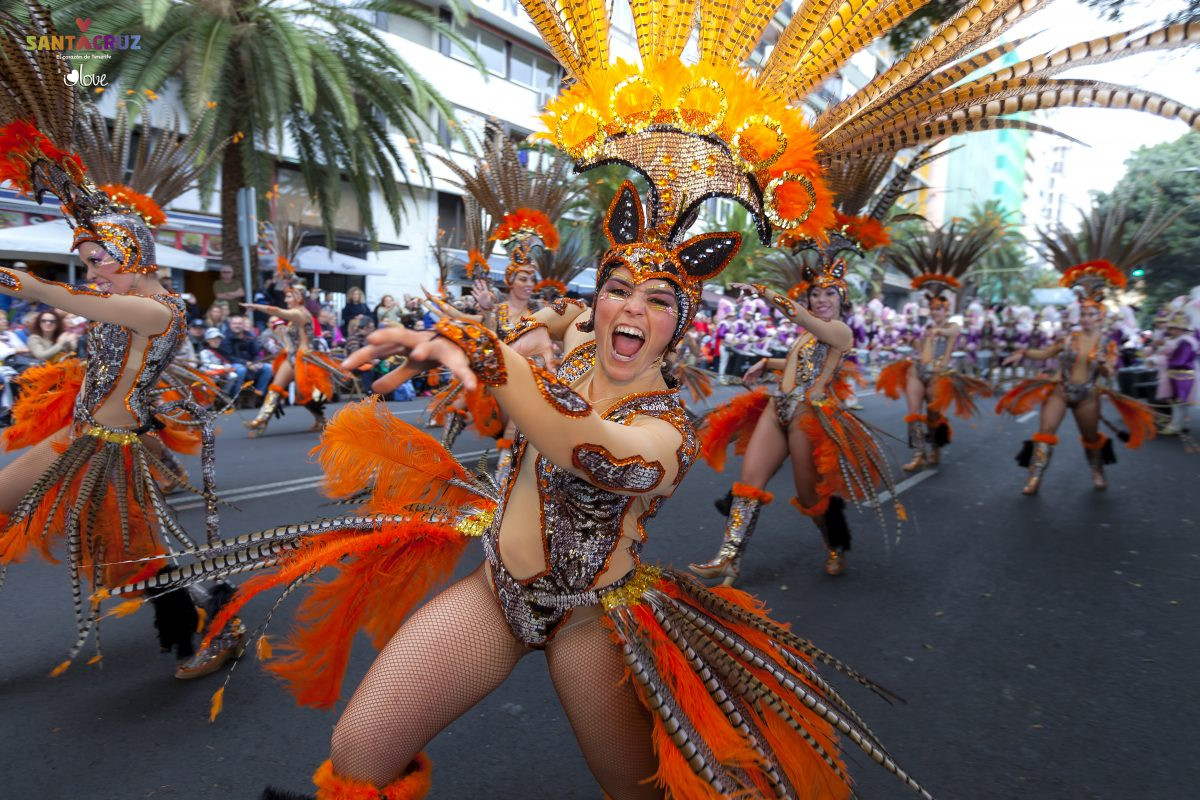 Carnaval op Tenerife. Copyright Turismo de Tenerife