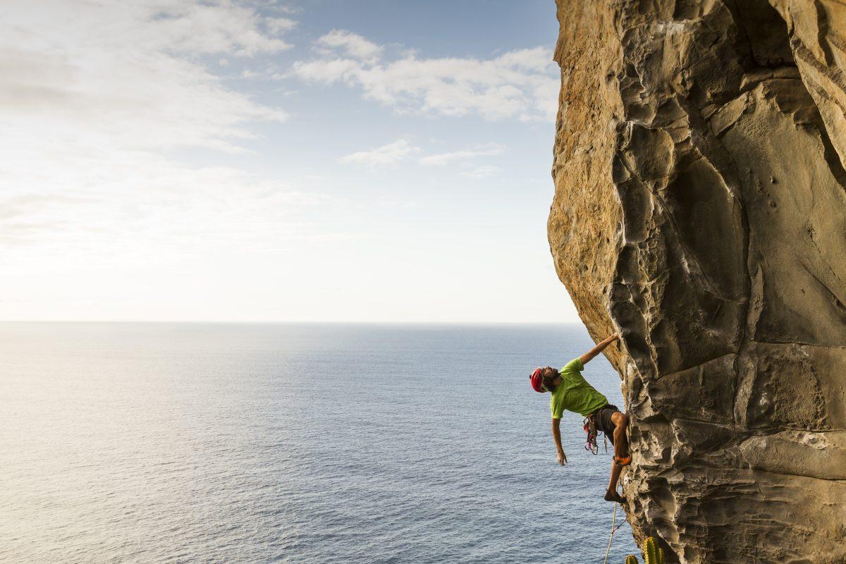 Ook adrenalinejunkies kunnen op Tenerife terecht. Copyright Turismo de Tenerife