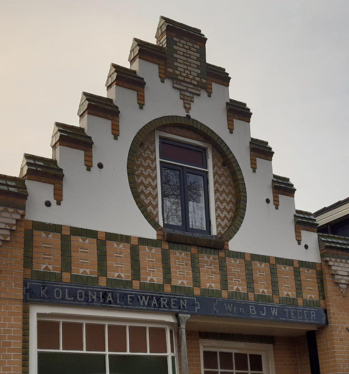 Karakteristieke gevel centrum Diepenheim