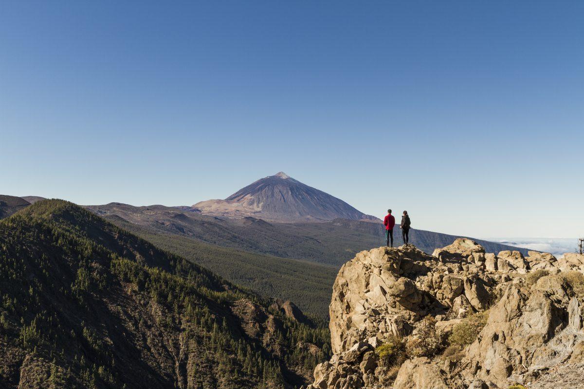 Wat een waanzinnige natuur hier. Copyright Turismo de Tenerife