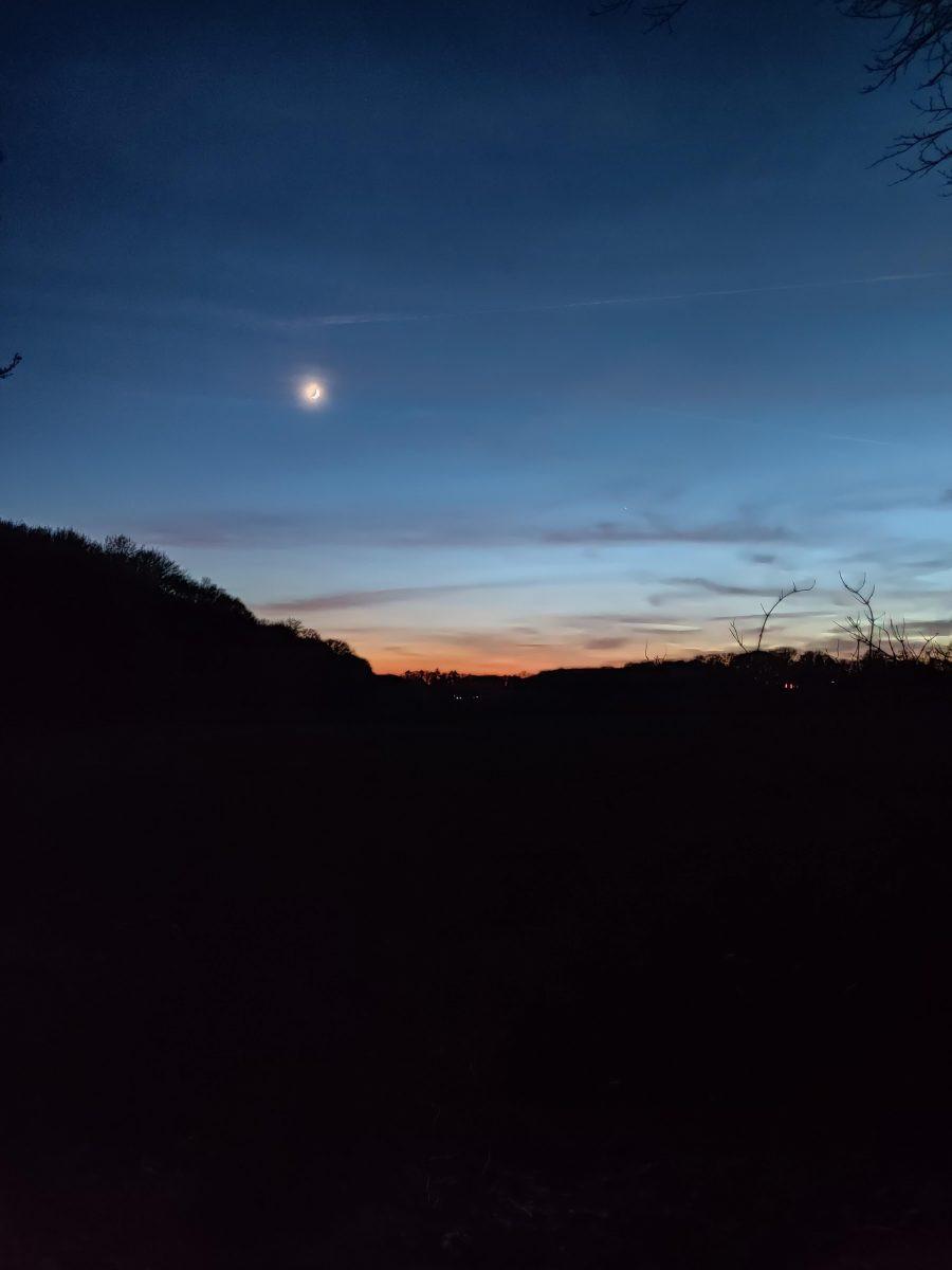 Wandelen bij maanlicht