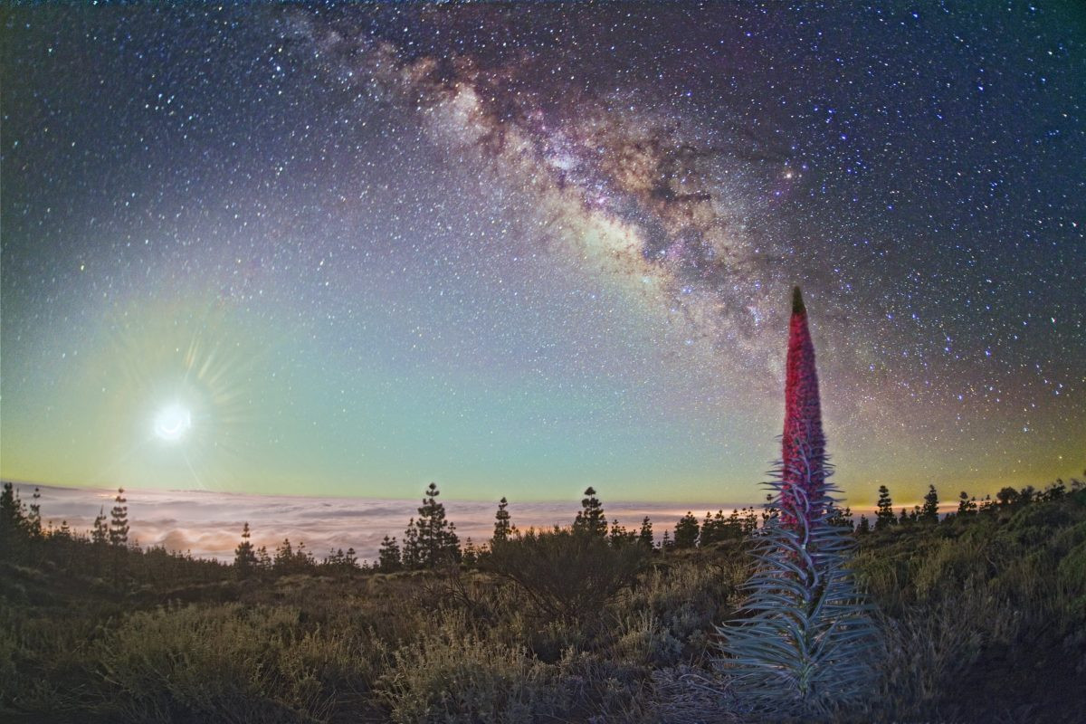 Je kunt super sterren kijken op Tenerife. Copyright Turismo de Tenerife
