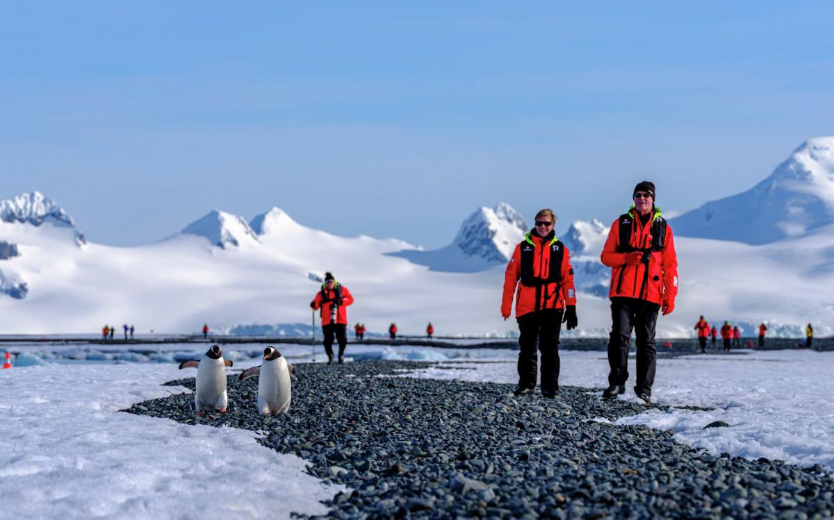 Aankomst op Antarctica. Foto: Dan Avila